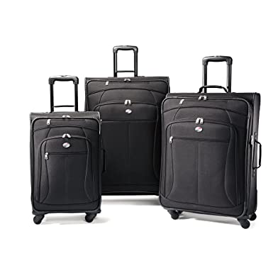 Amazon.com | American Tourister Luggage AT Pop 3 Piece Spinner Set ...