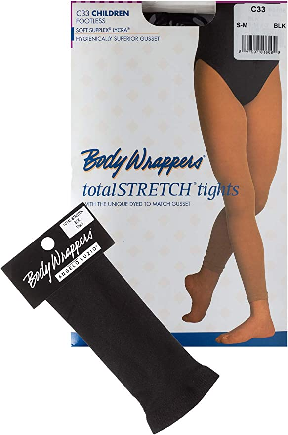 Body Wrappers A33 Women/'s Size Large//Extra Large Suntan Footless Tights