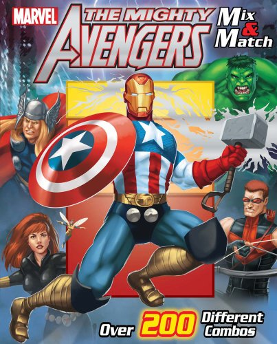 Marvel The Avengers Mix & Match (Mix and Match)
