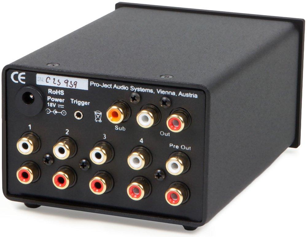 Pro-Ject Pre Box DS gris Preamplificador para equipo de audio
