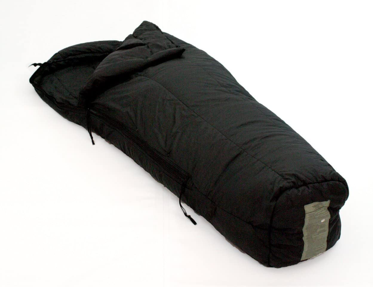 Tennier Industries US Military MSS Black Intermediate Cold Weather Mummy Sleeping Bag