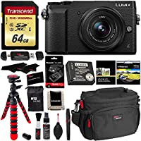 Panasonic LUMIX GX85 4K Mirrorless Interchangeable Lens Camera Kit With 12-32mm Lens, Polaroid Filter, Transcend 64 GB Card, DMW-ZSTRV Lumix Battery & External Charger, Cleaning Kit & Accessory Bundle Benefits Review Image