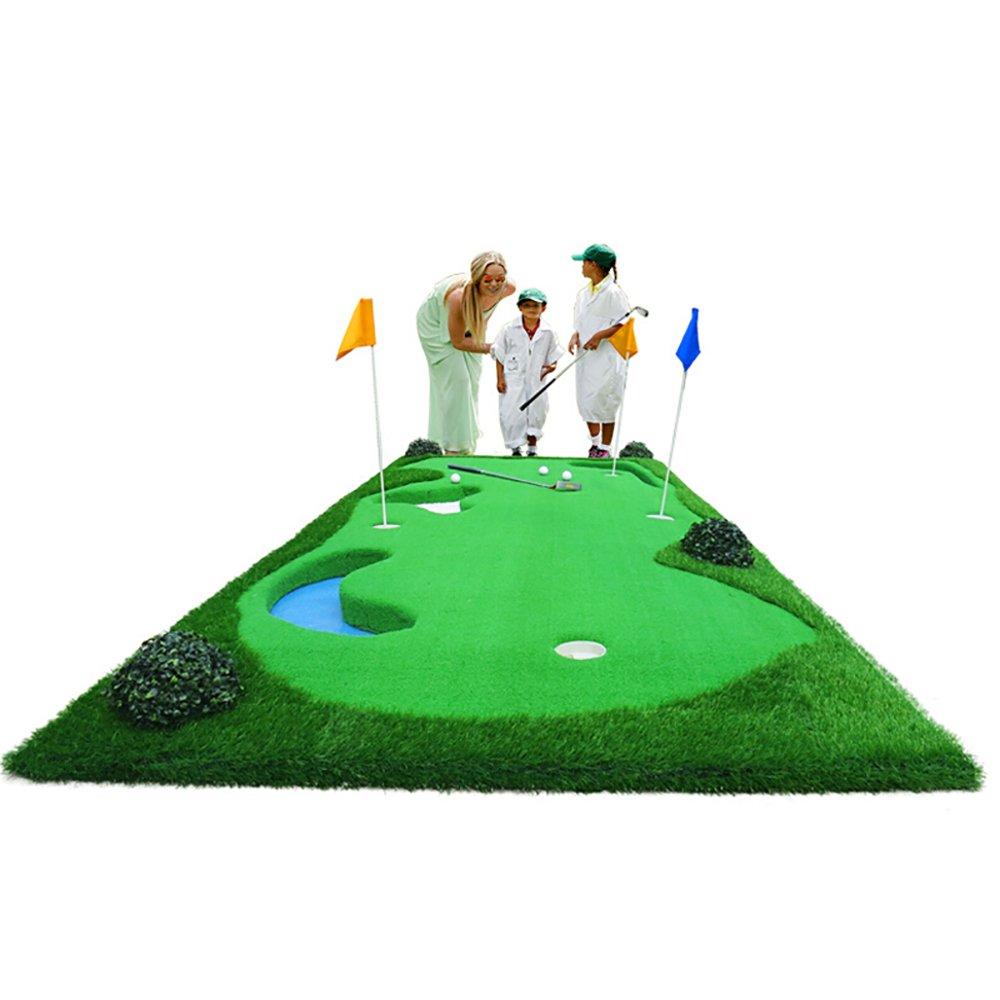 GLJJQMY ゴルフパットエクササイズマットエクササイズマット屋内屋外スイングエクササイズ ゴルフマット B07PDWPG8Q
