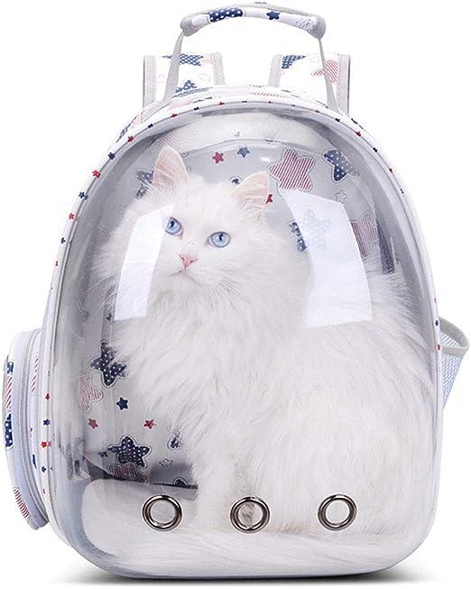 Estrellas Portátil Transportín para gato y perro cómodo Mochila ...