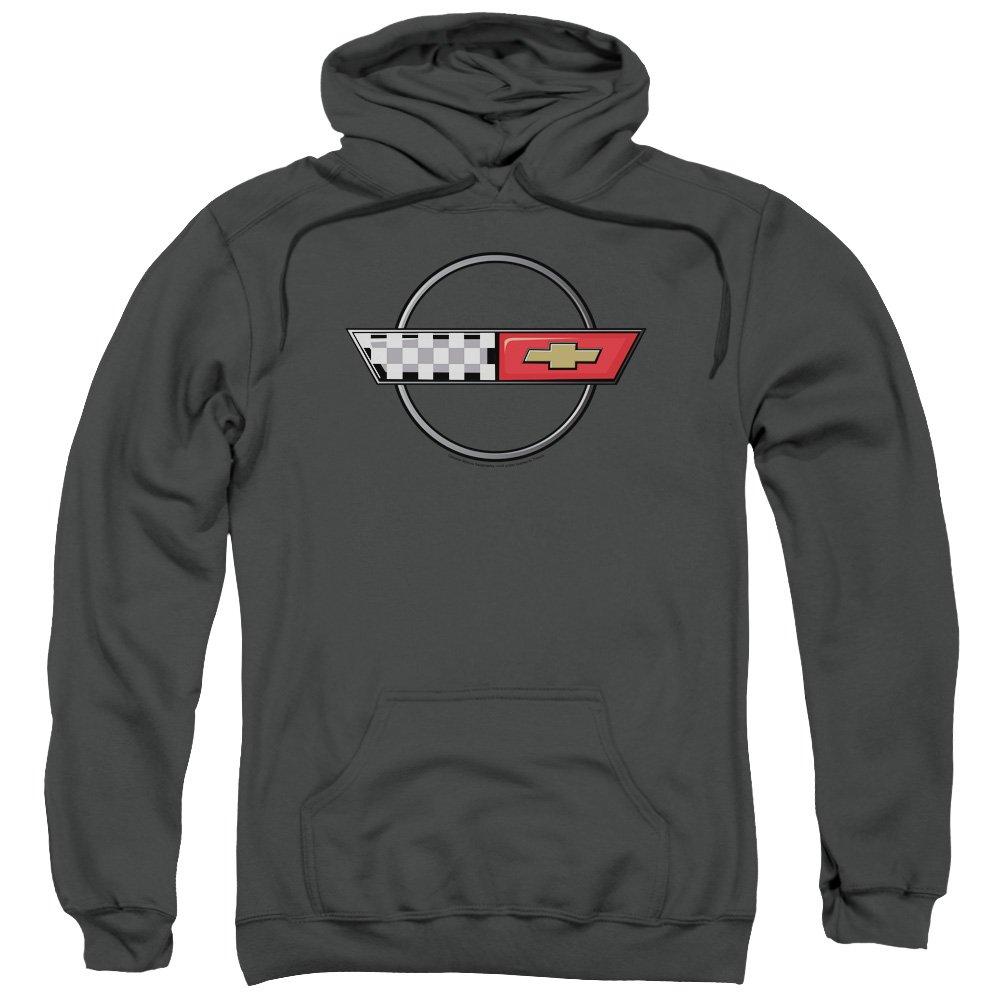 Chevrolet - - Männer 4Th Gen Vette Logo Pullover Hoodie