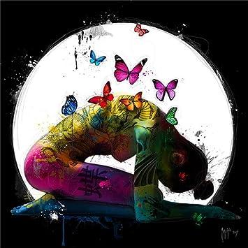 Moderne Kunst Malerei ÖLgemäLde Leinwand Drucken Rahmenlose Leinwand  Schmetterling Und Frau Wohnzimmer Home Sofa Wand Hintergrund