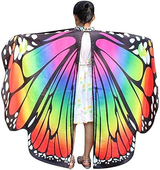 AOLVO - Disfraz de alas de Polilla para niños, diseño de Mariposa ...