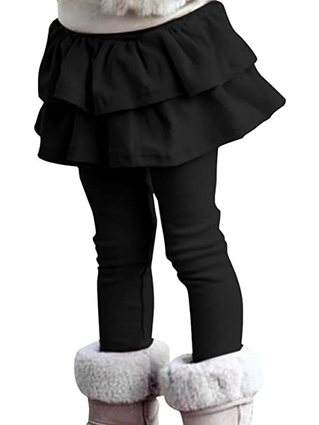 d4f0dd961 Amazon.com  EGELEXY Girls Cute Cotton Skirted Tutu Leggings  Clothing