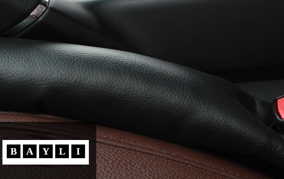 Bayli 2x Kfz Pkw Autositz Lückenfüller Auto Sitz Mittelkonsole Fallstoper Organizer Farbe Schwarz Auto
