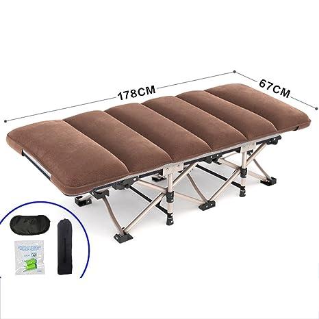 Amazon.com: ZR - Cama plegable para oficina y silla de cama ...