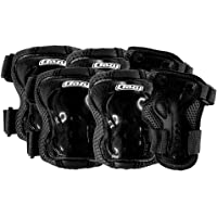 Crazy Skates Kids Protective Gear Set for Rollerblading, Roller Skates, Skateboards and Cycling - Includes Knee, Elbow and Wrist Pads - ProteXion Series