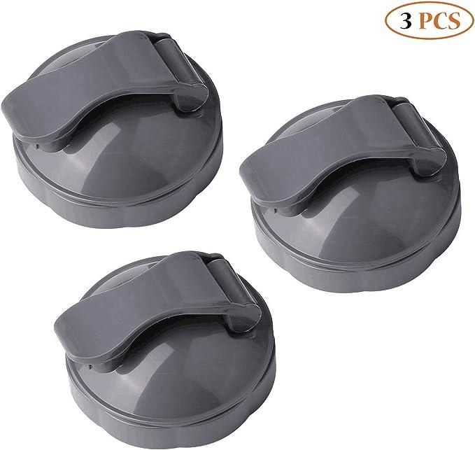 NutriBullet Flip Top To-Go - Juego de 3 exprimidores de tapa y piezas de repuesto para licuadora 600 W y Pro 900 W: Amazon.es: Hogar
