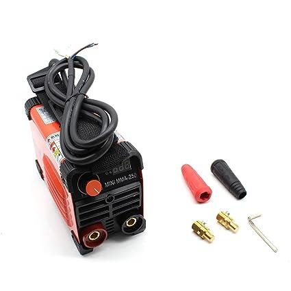 Dispositivo de soldadura inversor, MMA-250 Handheld IGBT, soldador ...