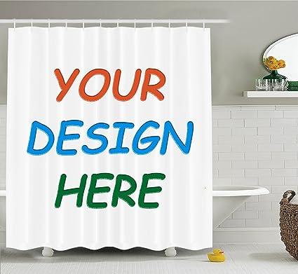 Professional Custom Shower Curtain Bath MAT 69x70