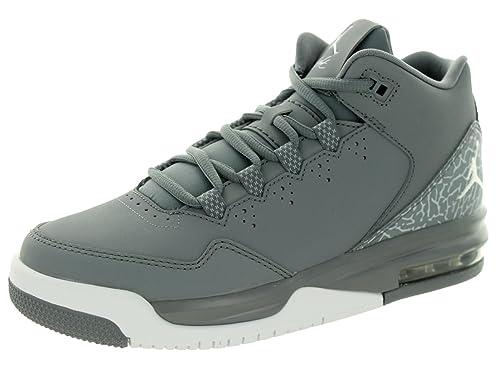 release date 54d57 1d7b6 Nike Jungen Jordan Flight Origin 2 BG Turnschuhe, Grau Weiß (Cool White-