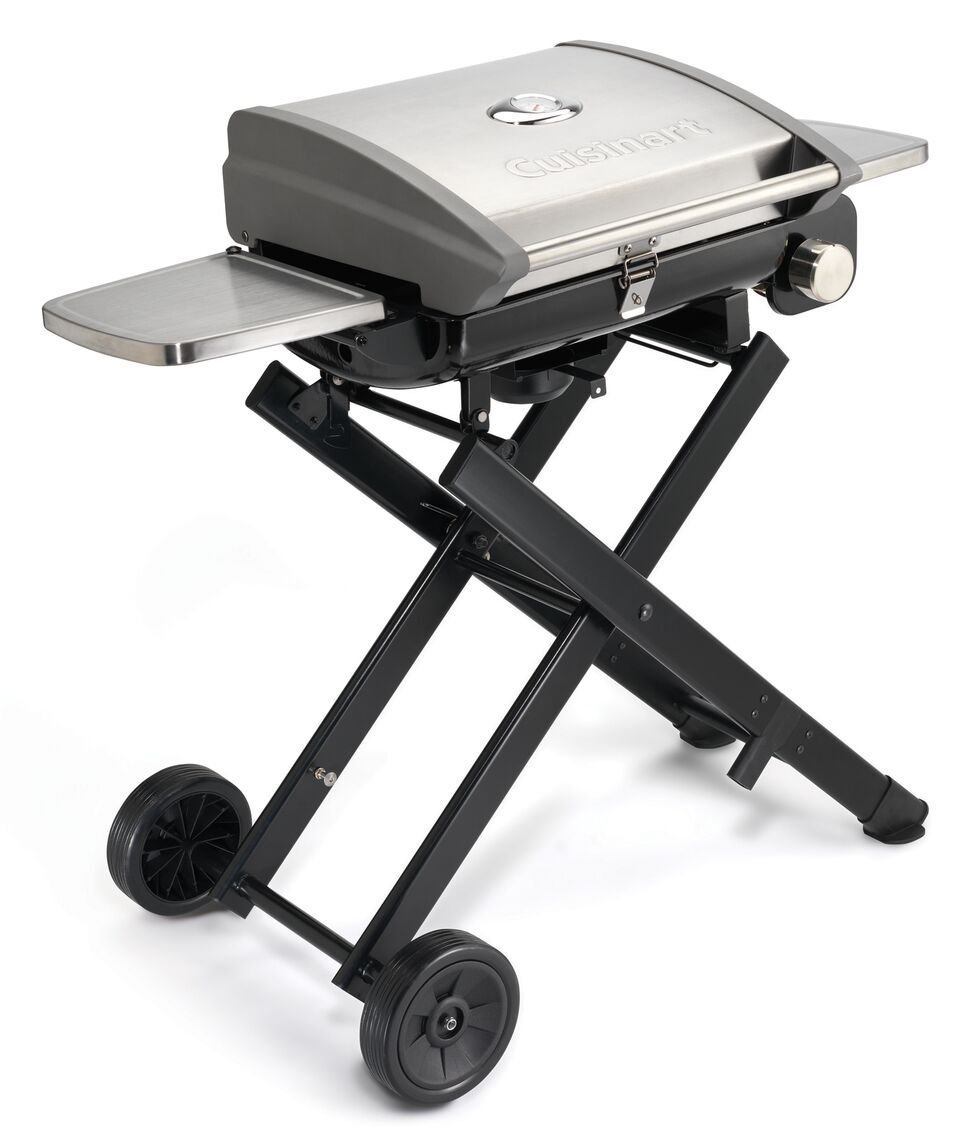 Exceptional Amazon.com: Cuisinart CGG 240 All Foods Roll Away Gas Grill: Garden U0026  Outdoor