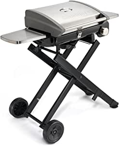 """Cuisinart CGG-240 All Foods, 27.3"""" L x 38"""" W x 23.5"""" H, Roll-Away Gas Grill, Stainless Steel"""