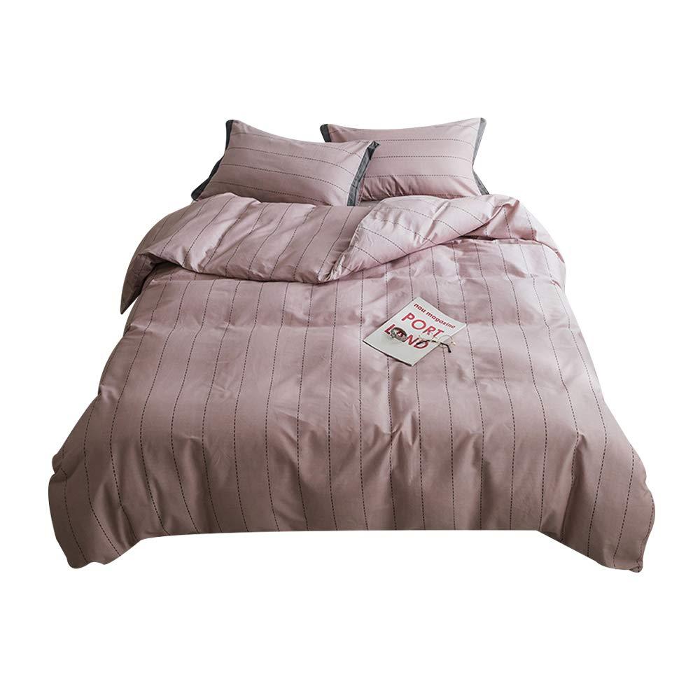 新鮮で素敵なベッドのトランポリンカバー綿洗浄キルトカバー枕カバーホームテキスタイルの寝具4セットはピリングするのは簡単ではありません B07SJQGV8X