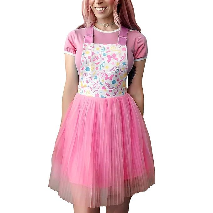 LittleForBig Mono Falda Romper-Princesa de Confeti Mono Falda ...