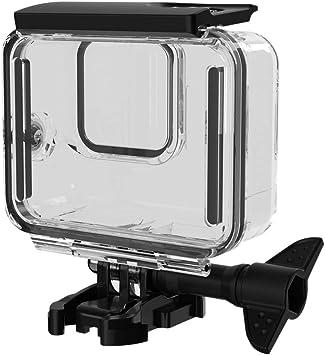 Domilay Funda Impermeable para GoPro Hero 8 Accesorios Carcasa Caja Carcasa Protectora de Buceo Carcasa de 60 Metros para CáMara de AccióN Go Pro 8 con Accesorios de Soporte: Amazon.es: Electrónica