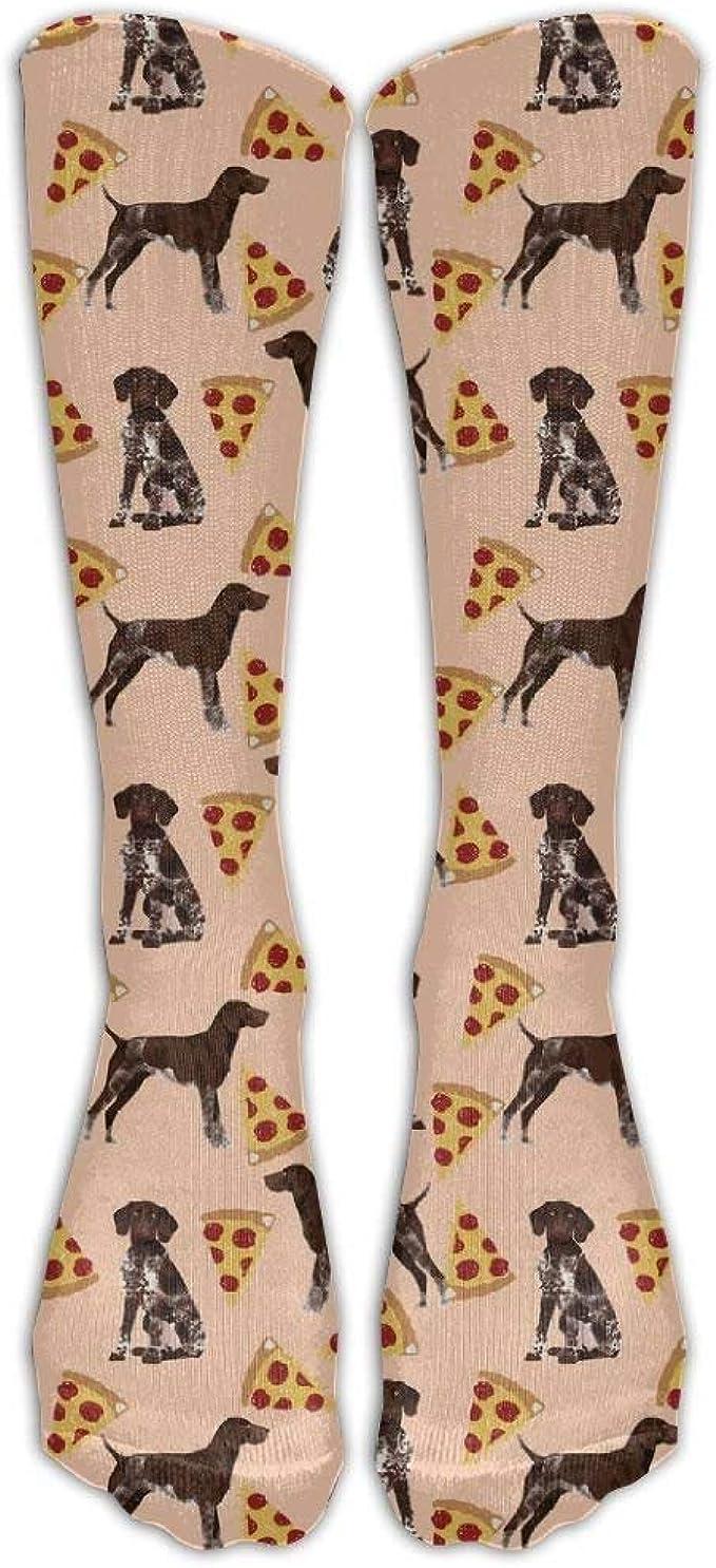 Socksforu Hombres/Mujeres Calcetines de manga corta con punta de pizza de pelo corto alemán para hombre: Amazon.es: Ropa y accesorios