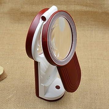 WOAIWOJIA 3X 4.5X 6X Lupa - Lámpara De Mesa Y Escritorio con Luz Led Ultrabrillante