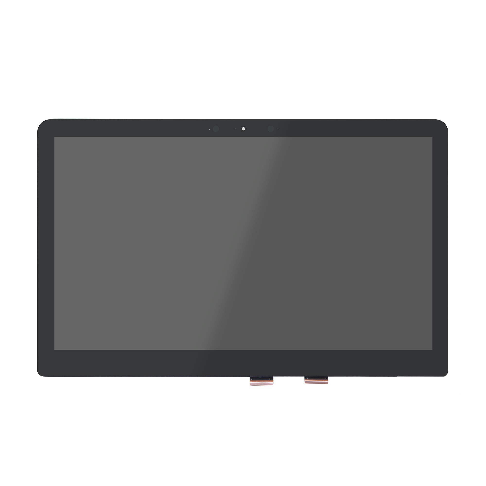 LCDOLED Compatible 15.6 inch UHD 4K IPS LCD Display Touch Screen Digitizer Assembly for HP Spectre x360 15-ap 15t-ap Series 15-ap000 15t-ap000 15-ap012dx 15-ap052nr 15-ap062nr 15-ap018ca (No Bezel)