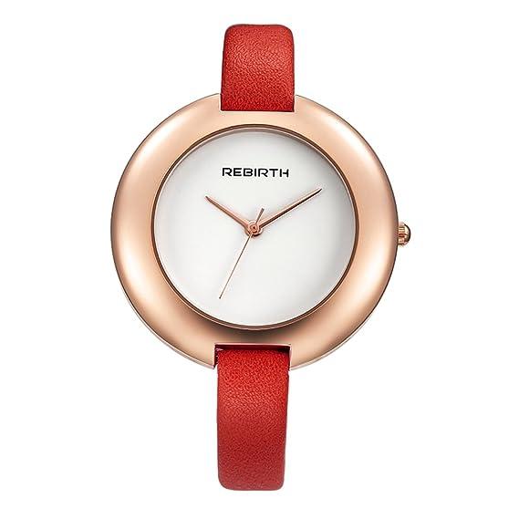 vestimenta casual mujeres YPS las mejores marcas de moda de lujo sencilla relojes de cuarzo WTH8522: Amazon.es: Relojes