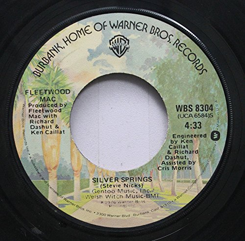 Records Rpm Way 45 (Fleetwood Mac 45 RPM Go Your Own Way / Silver Springs)