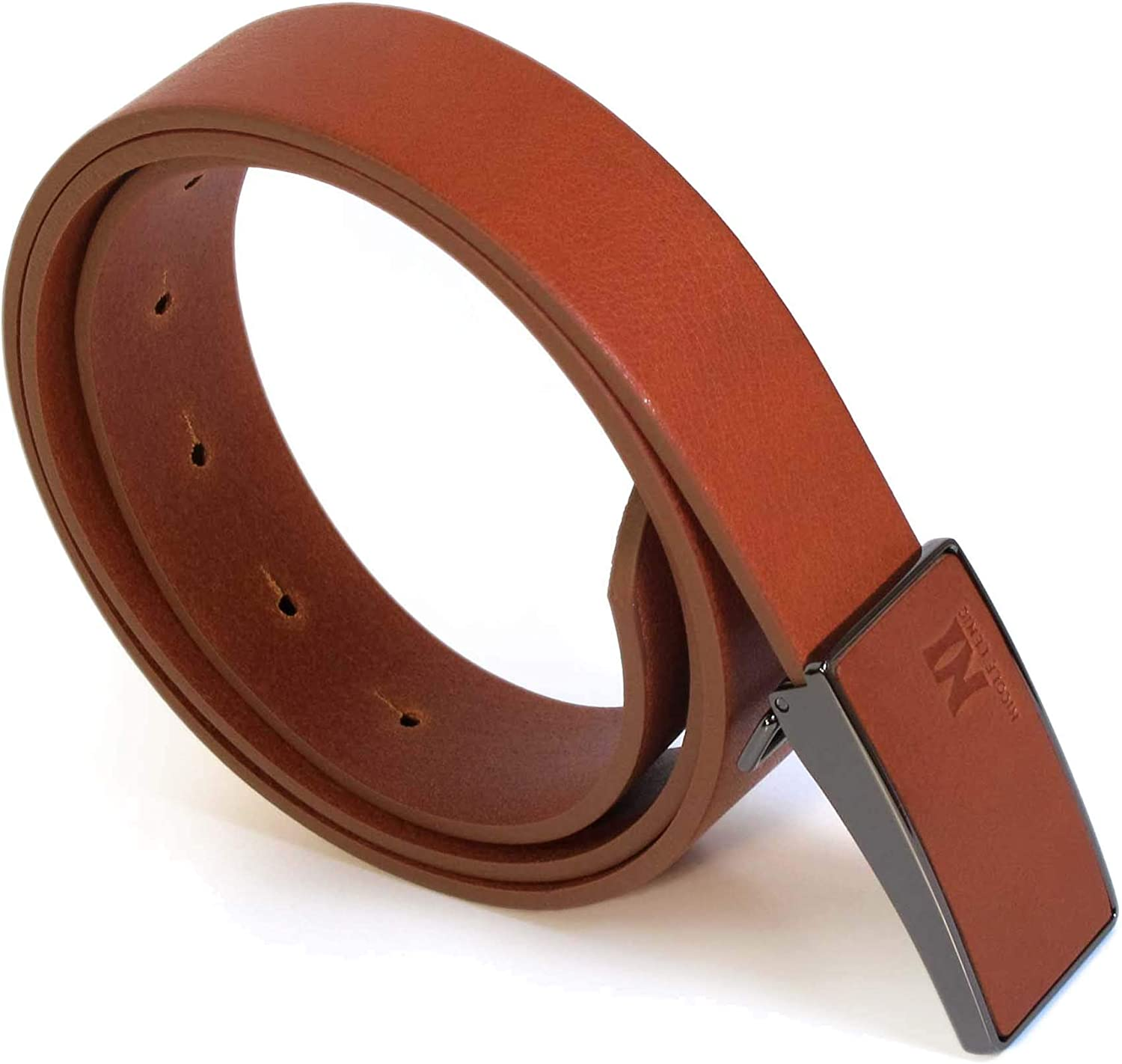 Womens Geniune Leather Tan Brown Belt L M S Thick Casual Jeans Girls 1.1 Wide