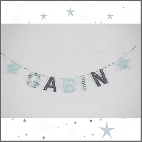 guirlande prénom personnalisé décoration chambre bébé et enfant ...