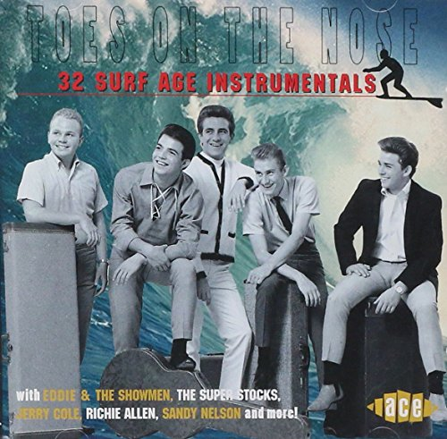 Guitar Instrumental Cd - Toes on the Nose: 32 Surf Age Instrumentals