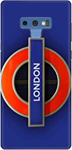 Stylizedd Samsung Galaxy Note 9 Slim Snap Classic Case Cover Matte Finish - Mind The Gap
