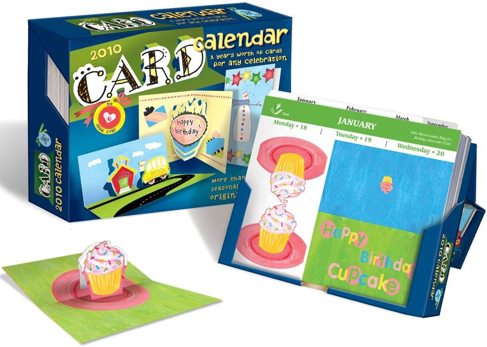 Download Card Calendar: A Year's Worth of Celebrations: 2010 Day-to-Day Calendar pdf