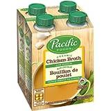 Pacific Foods Organic Low Sodium Chicken Broth, 4 X 236ml Pack