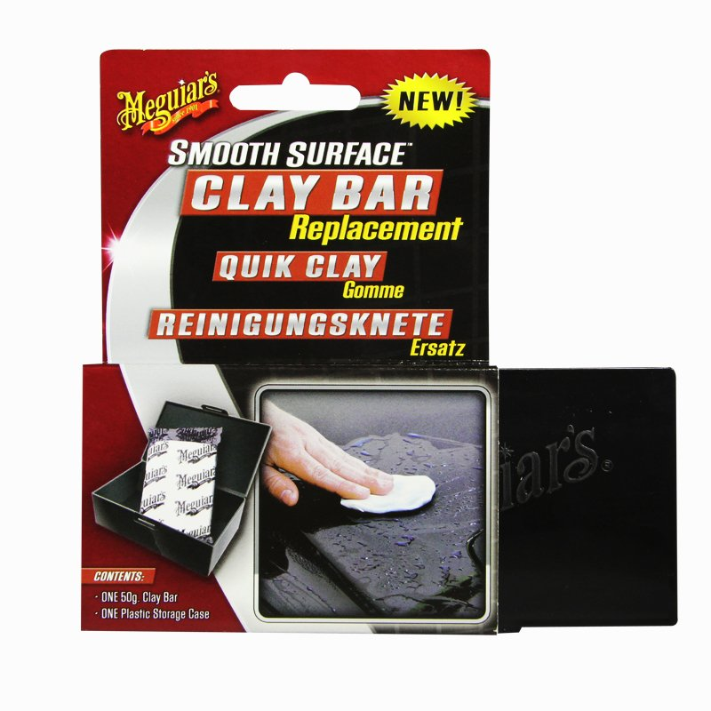 Meguiar`s ME G1001 Smooth Surface Clay Bar Replacement, 50 g low-cost