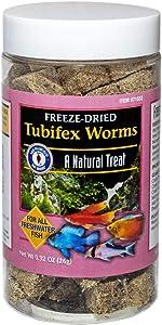 San Francisco Bay Brand Freeze-Dried Tubifex Worms 0.92-Ounces (26-Grams) Jar