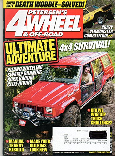 Petersen's 4 Wheel & Off Road Magazine December 2009 ISLAND WHEELING Swamp Running ROCK RACING Cliff Diving MAKE YOUR OLD RIMS LOOK NEW Manual Tranny Rebuild DEATH WOBBLE-SOLVED UA