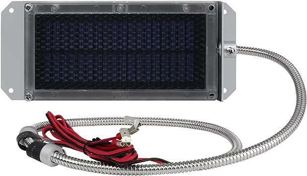 Amazon Com Universal Power Group 6 Volt Solar Panel Deer Feeder 6v Battery Charger Automotive