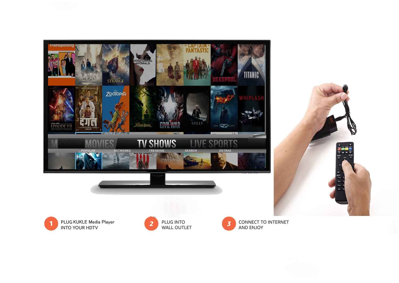 KUKELE Strongest TV STICK Android Media Player [Quad Core RK3288/2GB+8GB/4K/Instruction/Wireless Keyboard] by KUKELE (Image #1)