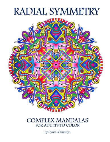 Radial Symmetry: Complex Mandalas for Adults to Color