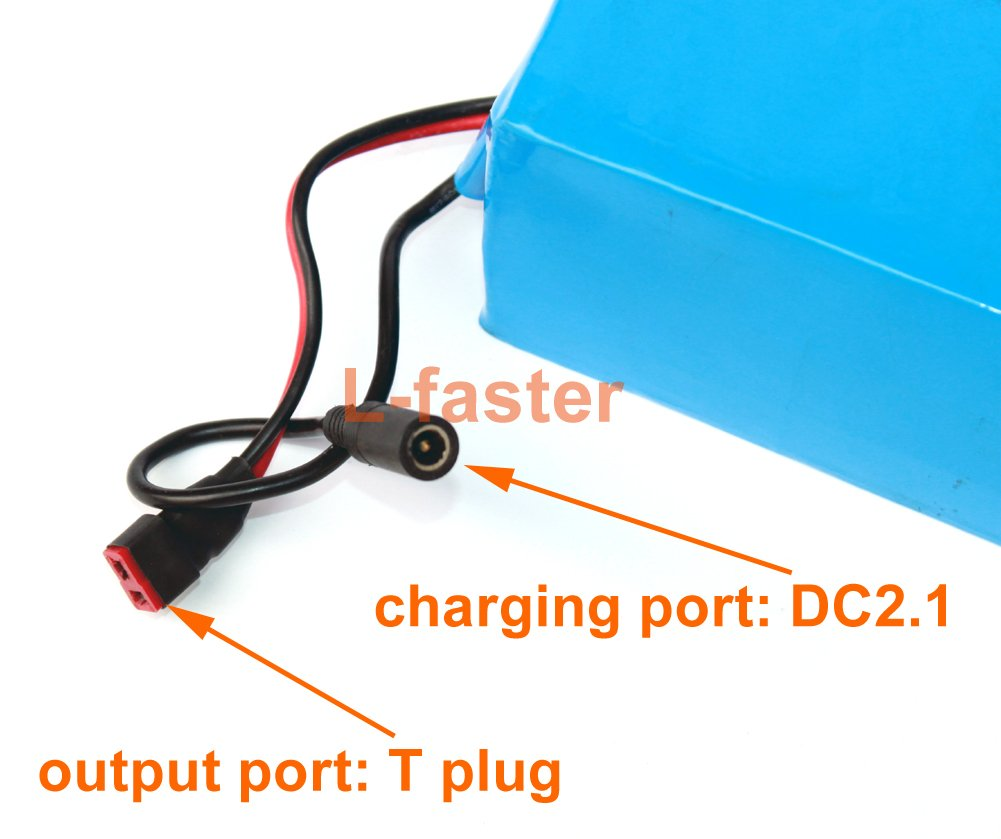 36V 12Ah Electric Bike Lithium Battery With Charger Electric Scooter Battery Can Put In Our Battery Bag by L-faster (Image #5)