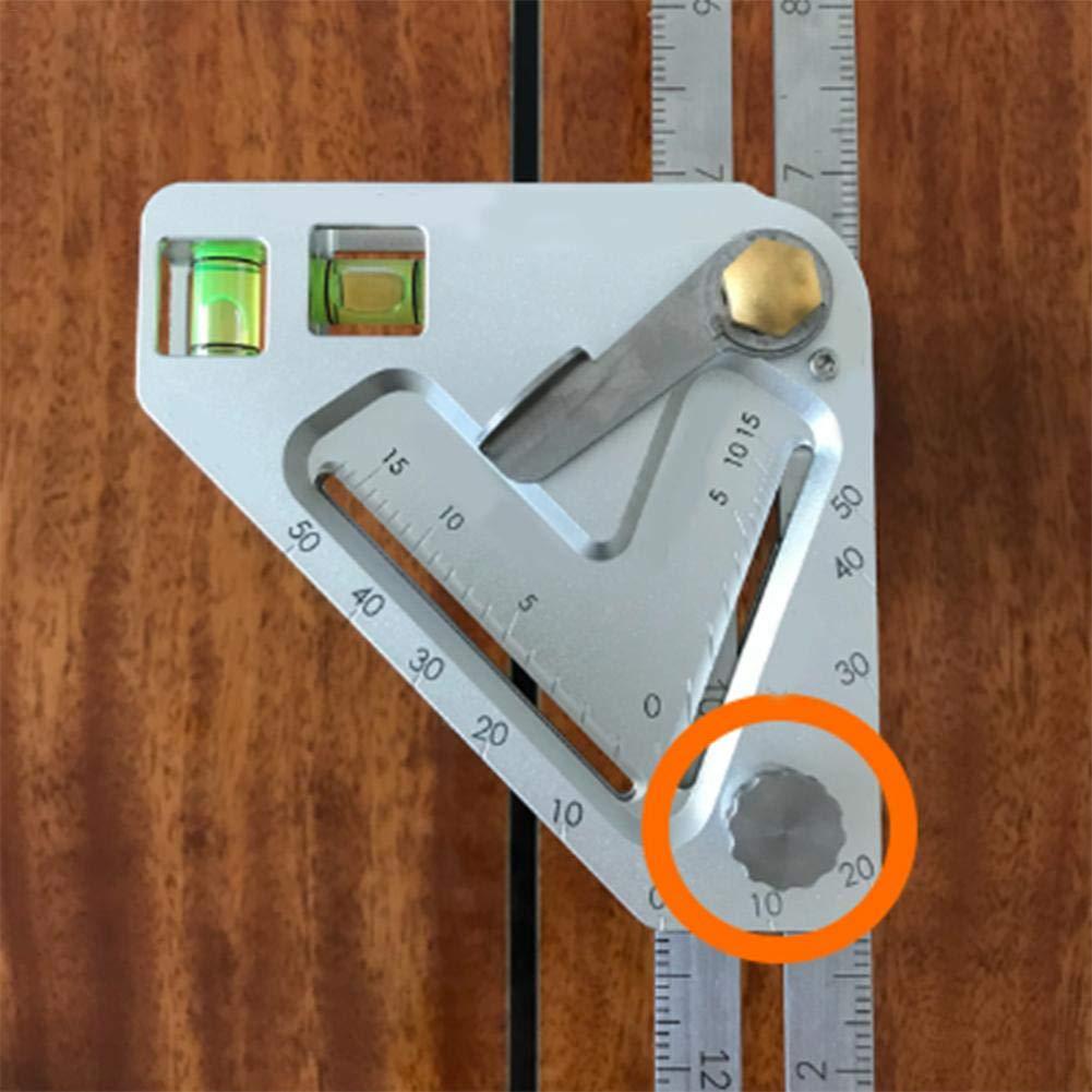 Edelstahl Multi-Winkel Lineal Messen Werkzeuge Schablone einfach Hohe Qualität