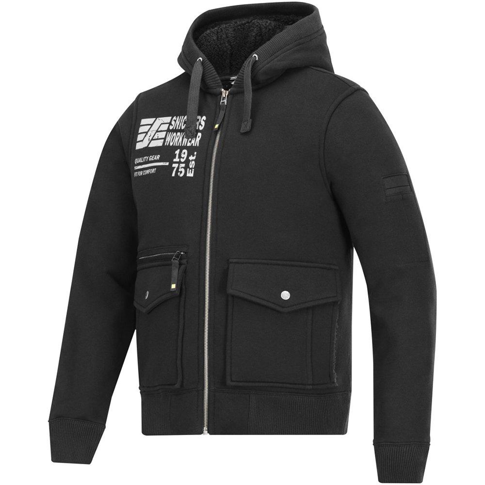 Snickers 28170400003Größe XS Sweatshirt Jacke–Schwarz