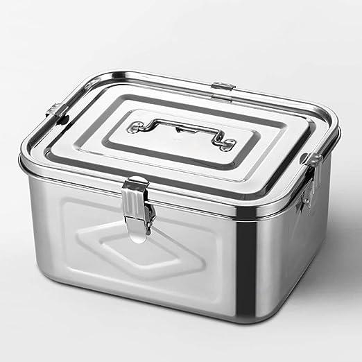 Acero inoxidable hermético del frasco, 304 de acero inoxidable Caja de almacenamiento, sellado del tanque Tanque