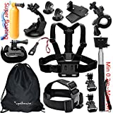 Togetherone Essential Accessories Bundle Kit for Gopro Hero 4 Gopro Hero 3 + Gopro Hero 2 Camera Accessory Kit for GoPro 4 and SJ4000 SJ5000 SJ6000, Sports Camera Accessory Set