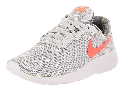 sneakers for cheap 295ec 43751 Nike Kids Tanjun (PS) Pure Platinum Lava Glow Running Shoe 1 Kids US