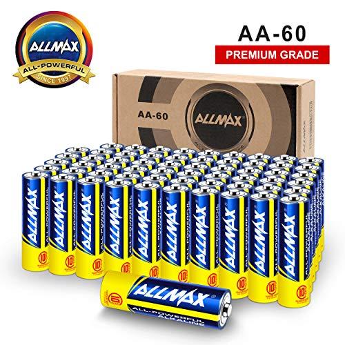 60 Pack of ALLMAX Alkaline Batteries Only $11.89 **Lightning Deal**