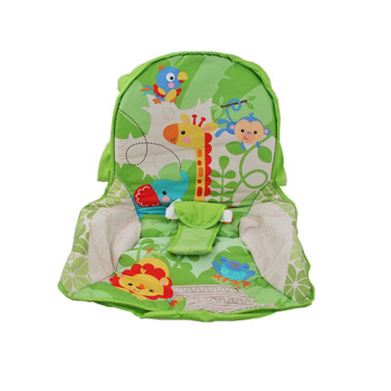 Fisher Price INFANT / NEWBORN TO TODDLER ROCKER Sleeper Replacement Seat Pad , X7047 RAINFOREST PAD by Fisher-Price