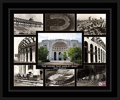 Ohio State Buckeyes- The House That Harley Built- Ohio Stadium -Framed Photo ()